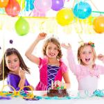 Kids BD Party clip art